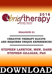 Image ofBT16 Dialogue 1 - Creative Therapy Elicits and Requires Unique Experie