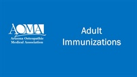 Image of Adult Immunizations