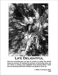Image of Life Delightful - Poster