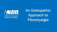 Image of An Osteopathic Approach to Fibromyalgia