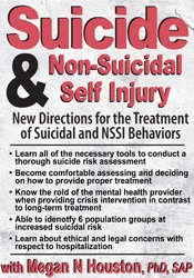 Image ofSuicide & Non-Suicidal Self Injury: New Directions for the Treatment o