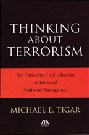 Image of Thinking About Terrorism by Michael E. Tigar
