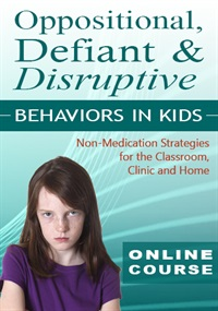 Image of Oppositional, Defiant & Disruptive Behaviors in Kids: Non-Medication S