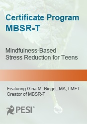 Image ofCertificate Program in Mindfulness-Based Stress Reduction For Teens (M