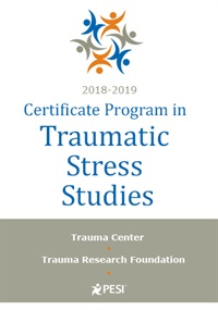 Image of2018-2019 Certificate Program in Traumatic Stress Studies