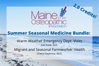 Image of Summer Seasonal Medicine Bundle: Warm Weather Emergency Dept. Visits &