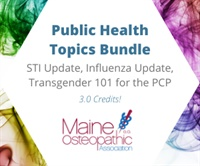 Image of Public Health Topics Bundle: STI Update, Influenza Update, Transgender