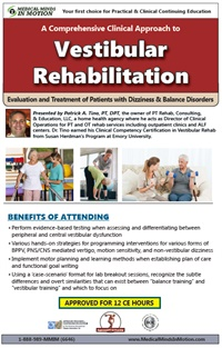 Image ofA Comprehensive Clinical Approach to Vestibular Rehabilitation