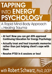 "Image of""Tapping"" into Energy Psychology Approaches for Trauma & Anxiety"