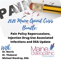 Image of 2020 Maine Opioid Crisis Bundle: Pain Policy Repercussions, Injection