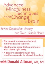 Image ofAdvanced Mindfulness Techniques that Change the Brain: Rewire Depressi