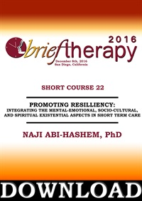 Image ofBT16 Short Course 22 - Promoting Resiliency: integrating the Mental-Em