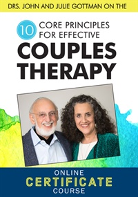 Image of Drs. John and Julie Gottman on the 10 Core Principles for Effective Co