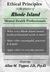 Image of Ethical Principles in the Practice of Rhode Island Mental Health Profe