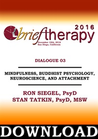 Image ofBT16 Dialogue 3 - Mindfulness, Buddhist Psychology, Neuroscience, and