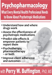 Image ofPsychopharmacology: What Every Mental Health Professional Needs to Kno