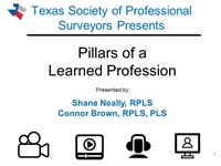 #1435 Pillars of a Learned Profession