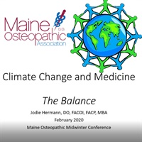 Image of Climate Change & Medicine, The Balance