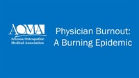 Image of Physician Burnout: A Burning Epidemic