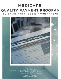 Image of Medicare Quality Payment Program: Guidance for the 2022 Payment Year