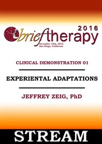 BT16 Clinical Demonstration 01 - Experiential Adaptations - Jeffrey Ze