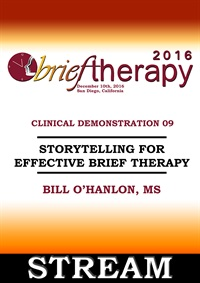 Image ofBT16 Clinical Demonstration 09 - Storytelling for Effective Brief Ther