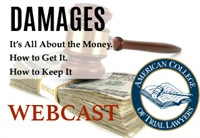 Image ofACTL 2019 - DAMAGES: It's All About the Money. How to Get it. How to K