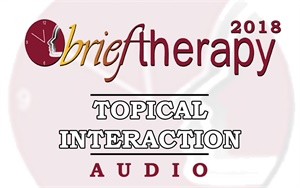 Image of BT18 Topical Interaction 04 - Evocation: Why Therapy Can Be Brief - Bi