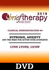 Image ofBT16 Clinical Demonstration 04 - Beyond Calming Down: Hypnosis, Anxiet