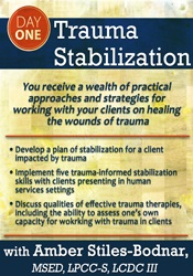 Image of2-Day Trauma-Informed Treatment Conference: Day 1: Trauma Stabilizatio