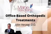 Image of Office-Based Orthopedic Treatments