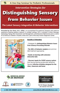 Image ofDistinguishing Sensory from Behavior Issues