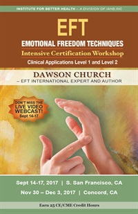 Image ofEFT - Emotional Freedom Techniques: EFT Clinical Applications Level 1