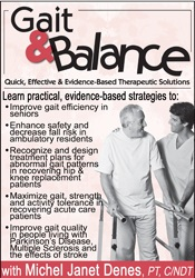 Image of Gait & Balance: Quick, Effective & Evidence-Based Therapeutic Solution
