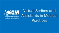 Image of Virtual Scribes and Assistants in Medical Practices