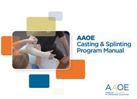 Image of Casting & Splinting Program Manual