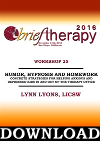 Image ofBT16 Workshop 25 - Humor, Hypnosis and Homework: Concrete Strategies f