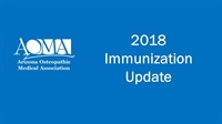 Image of 2018 Immunization Update