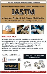 Image ofIASTM: Instrument Assisted Soft Tissue Mobilization Soft Tissue Manual