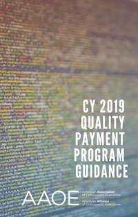 Image of CY 2019 Quality Payment Program Guidance