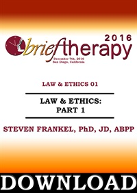 "Image of BT16 Law and Ethics ""What goes around…"", Part 01 - Steven Frankel, PhD"