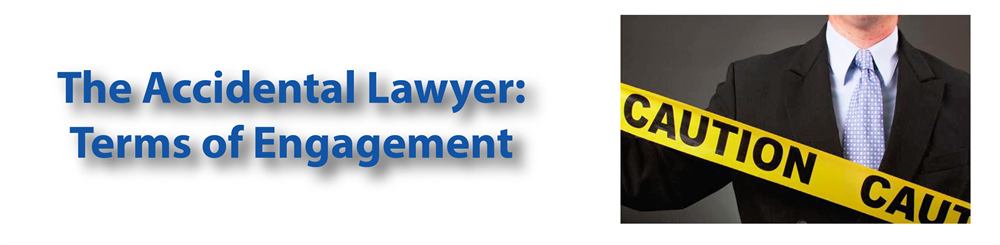 The Accidental Lawyer: Terms of Engagement