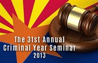 Image of31st Annual Criminal Year Seminar - led by Maricopa County Superior Co