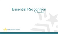 Image of Essential Recognition for Leaders