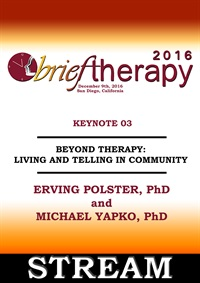 BT16 Keynote Address 03 - Beyond Therapy: Living and Telling In Commun
