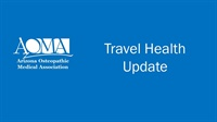 Image of Travel Health Update