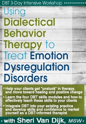 Image ofDBT 3-Day Intensive Workshop: Using Dialectical Behavior Therapy to Tr