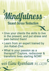 Image of Mindfulness Based Stress Reduction