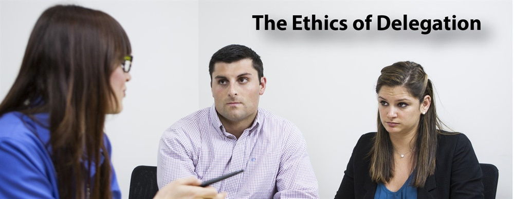 The Ethics of Delegation