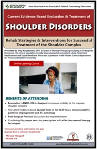 Current Evidence-Based Approach to Evaluation & Treatment of Shoulder